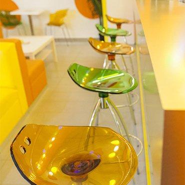 SCA-Frog Barová židle