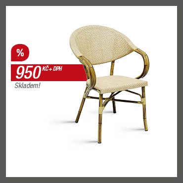 BAMBOO - Zahradní židle