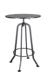 Barový stůl s kovovou konstrukcí