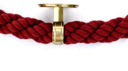 Kordon dekorativní průchodka lana