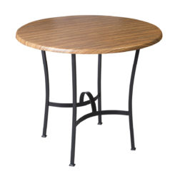 Kovaná podnož stolu