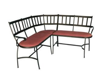 Kovaná lavice