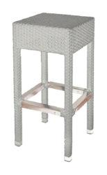Polyratanová barová židle