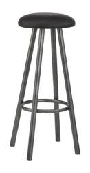 Barová židle s ocelovou konstrukcí