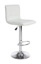 Barová židle s kovovou konstrukcí