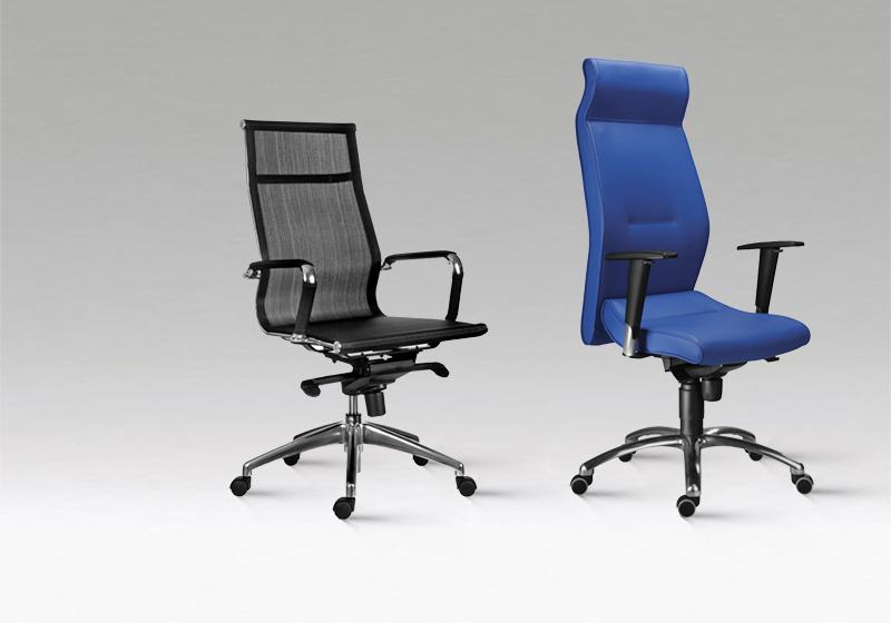 Otočné židle na kolečkách