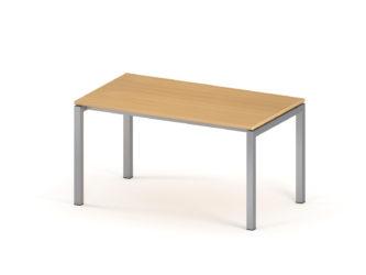 Kancelářský stůl, 800 × 1 400 mm, kovové nohy