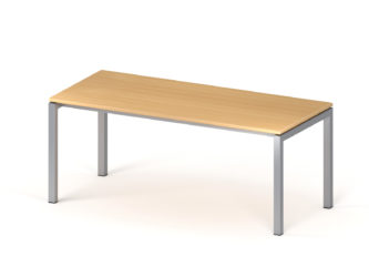 Psací stůl, 800 × 1 800 mm, kovové nohy