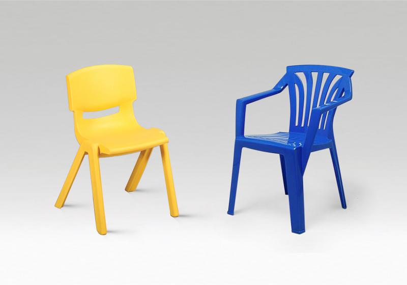 Plastové židličky