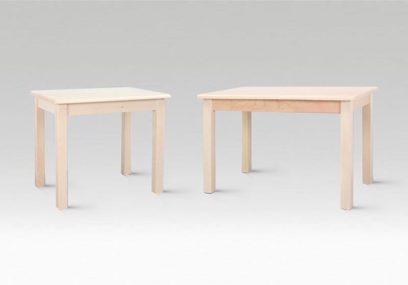 Dřevěné stolky