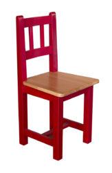 Balu – židle s dřevěnou konstrukcí pro mateřské školky