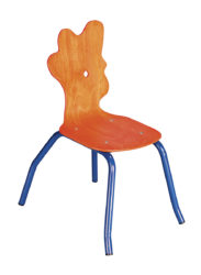 Kohout – židle pro mateřské školky