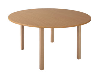 Pohádkový kruhový stůl s dřevěnou konstrukcí - 120 cm