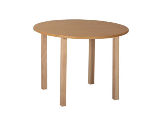 Pohádkový kruhový stůl s dřevěnou konstrukcí - 80 cm