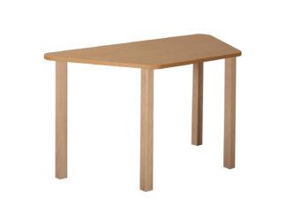 Pohádkový lichoběžníkový stůl s dřevěnou konstrukcí