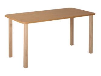 Pohádkový obdélníkový stůl s dřevěnou konstrukcí