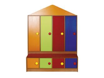 Šatní skříň Lili pro mateřské školy