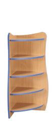 Policová skříň Flinstone – 90° rohový prvek