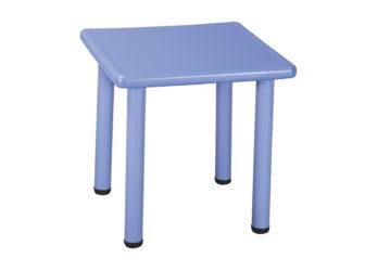 Duha plastový čtvercový stůl