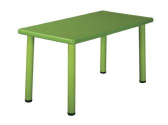 Duha plastový obdélníkový stůl