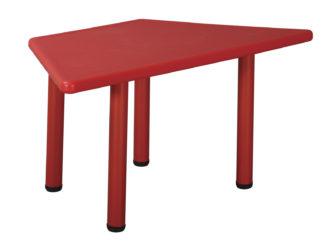 Duha plastový lichoběžníkový stůl