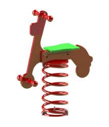 Motorka – jednomístná pružinová houpačka
