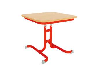 Čtvercový stůl pro mateřské školky Geo