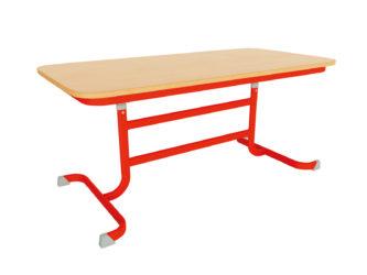 Obdélníkový stůl pro mateřské školky Geo