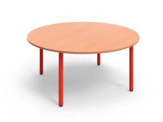 Pohádkový kruhový stůl s kovovou konstrukcí - 120 cm