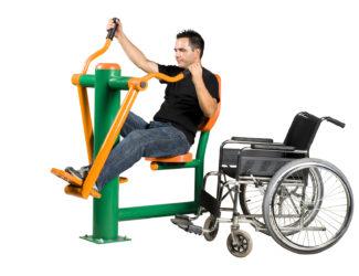 Přístroj na posilování rukou a nohou