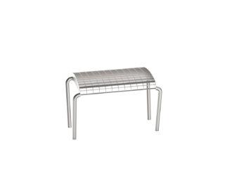 Romodul jednomístná venkovní lavička bez opěradla