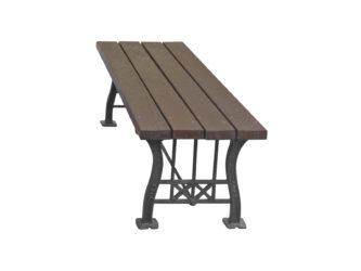 Secese venkovní lavička