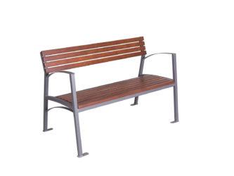 Valencia dvoumístná lavička s područkami