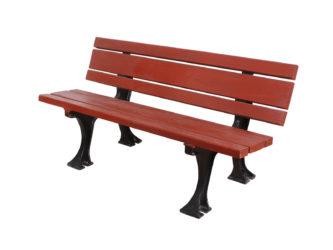 Parajd trojmístná lavička s opěradlem