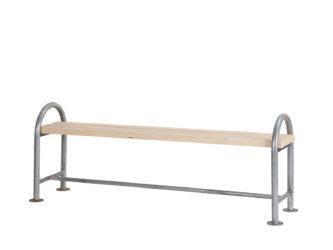 London trojmístná lavička bez opěradla