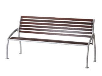 Madrid trojmístná lavička s opěradlem