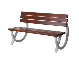 Ring venkovní trojmístná lavička s opěradlem