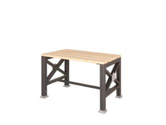 Roza jednomístná lavička bez opěradla