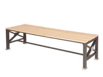 Roza trojmístná lavička bez opěradla