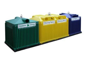 Sběrné nádoby na tříděný odpad