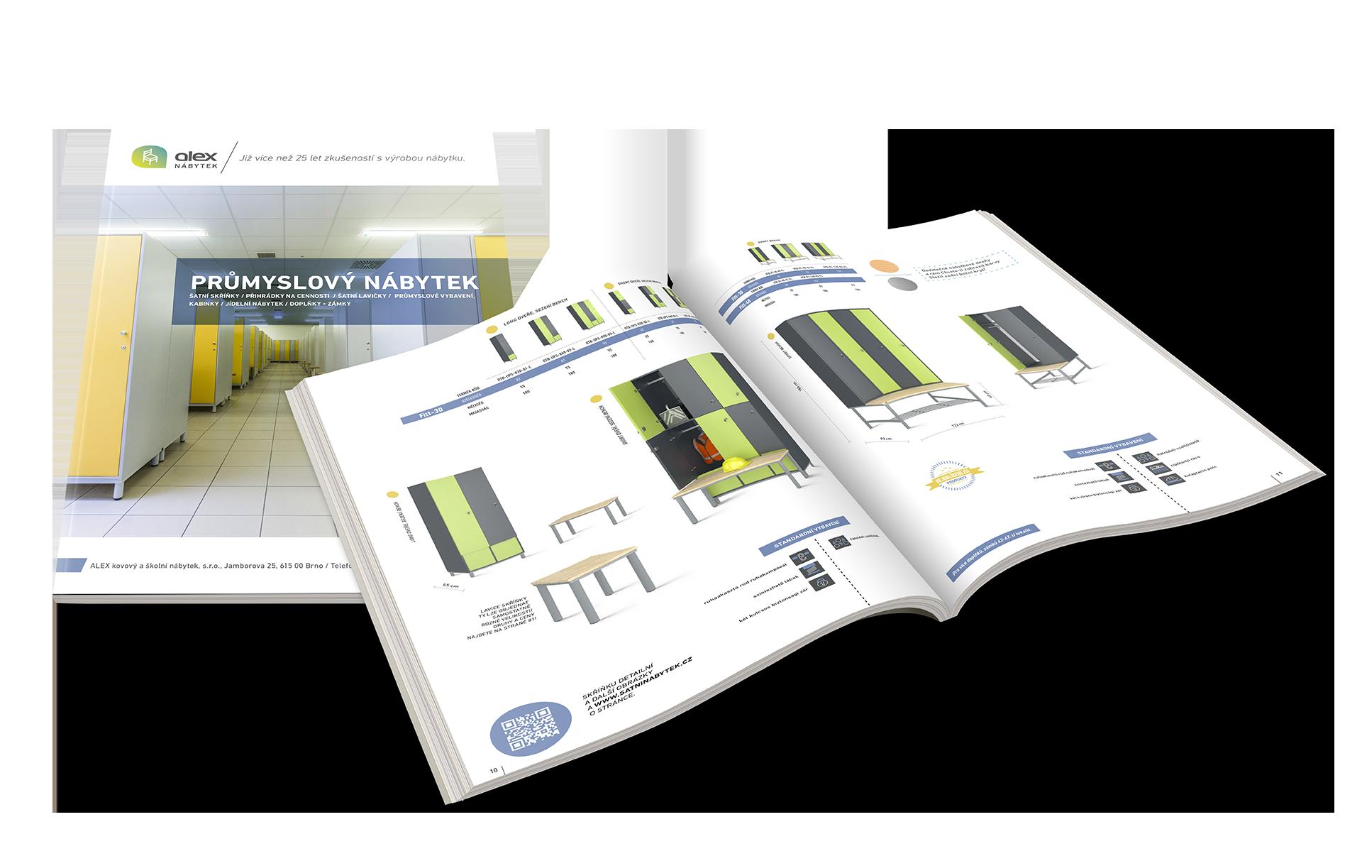Katalog průmyslového nábytku