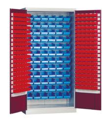 dvojdveřová, s plastovými zásobníky