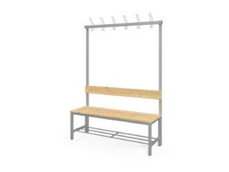 Fitt jednostranná šatní lavička