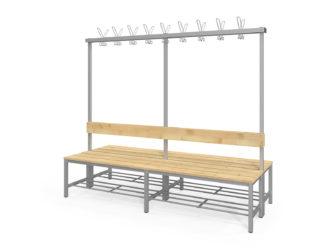 Fitt oboustranná šatní lavička