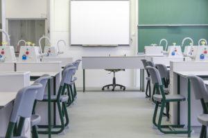 Trefort Training School - Laboratorní nábytek