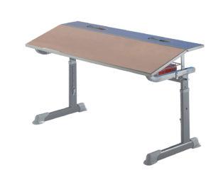 žákovská lavice, buková laminovaná deska, na kolečkách