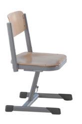 speciální židle, nastavitelná, s houpacím mechanismem, překližka