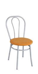 židle s ocelovou trubkovou konstrukcí
