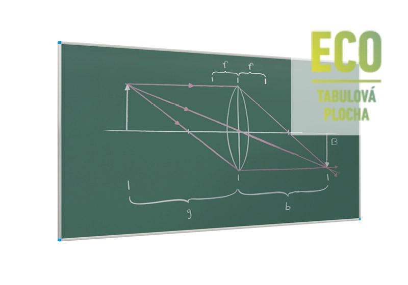 Klasické zelené nástěnné tabule ECO