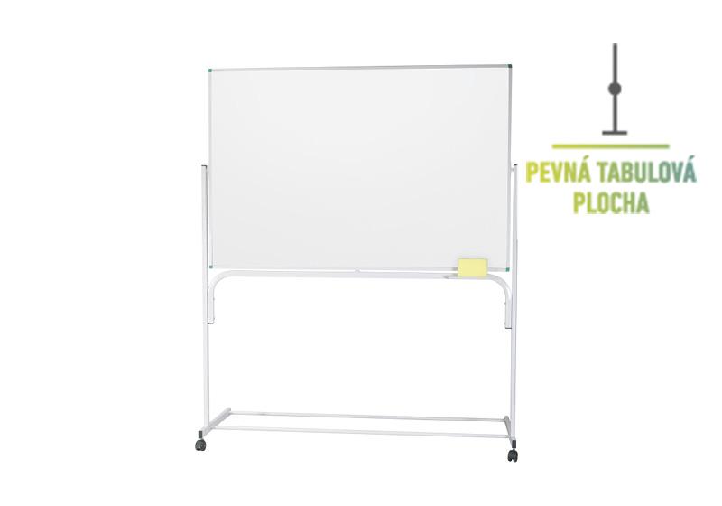 Klasické fixní bílé stojanové tabule